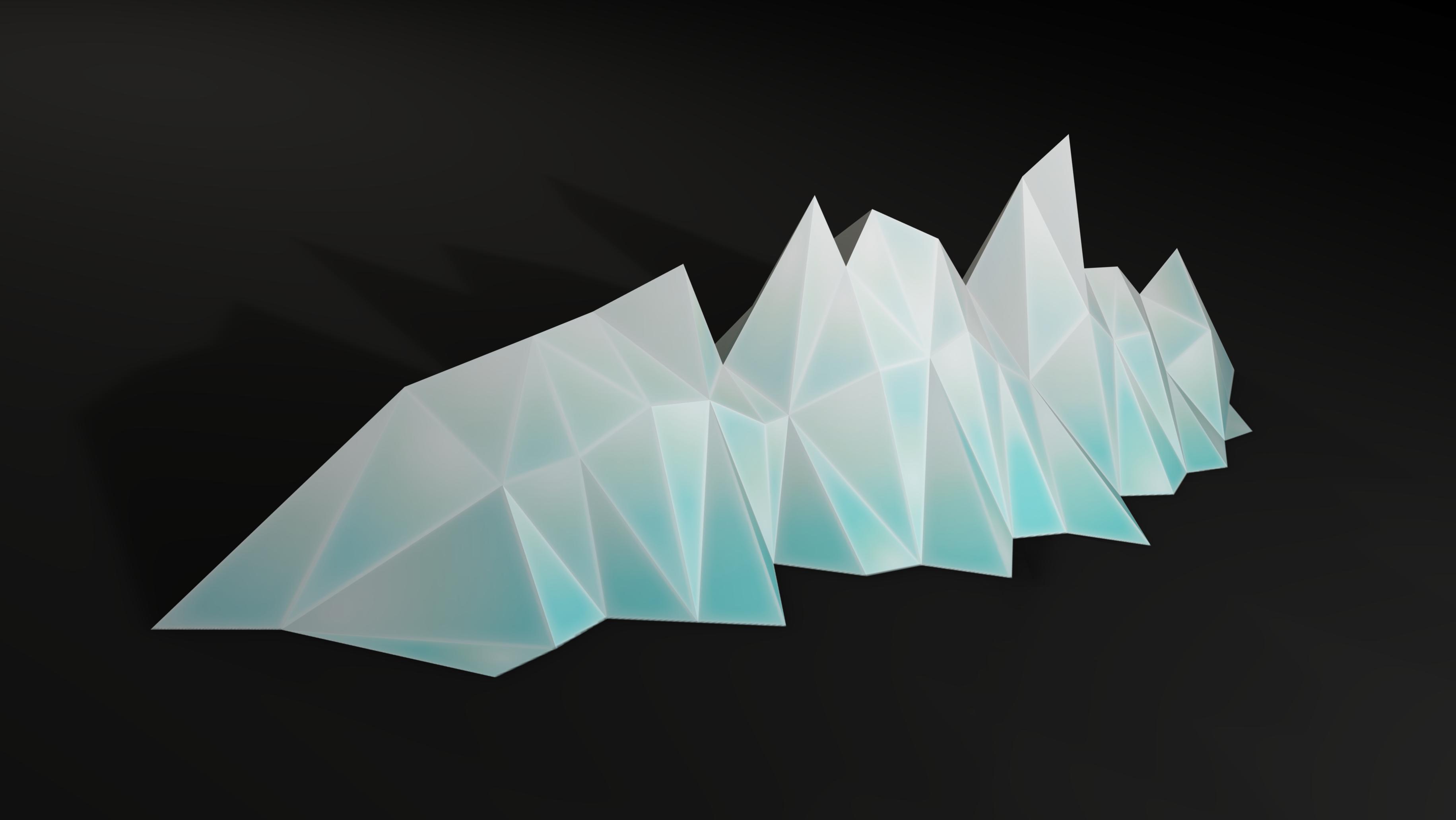 Crystalline Chlorophyll