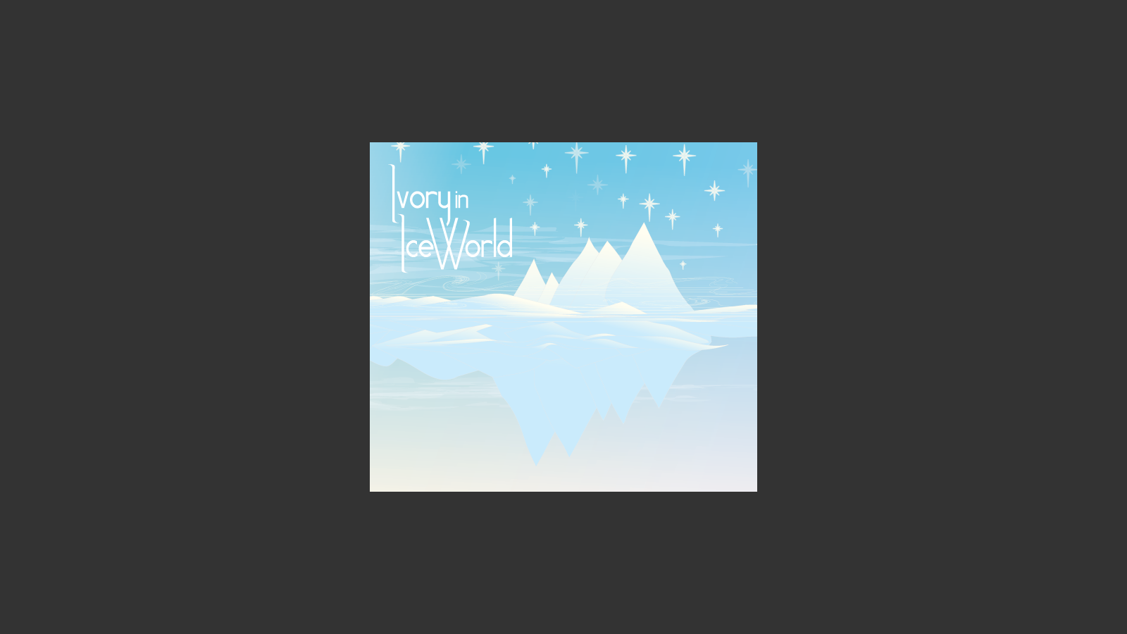 Ivory in Ice World: Self-Title EP