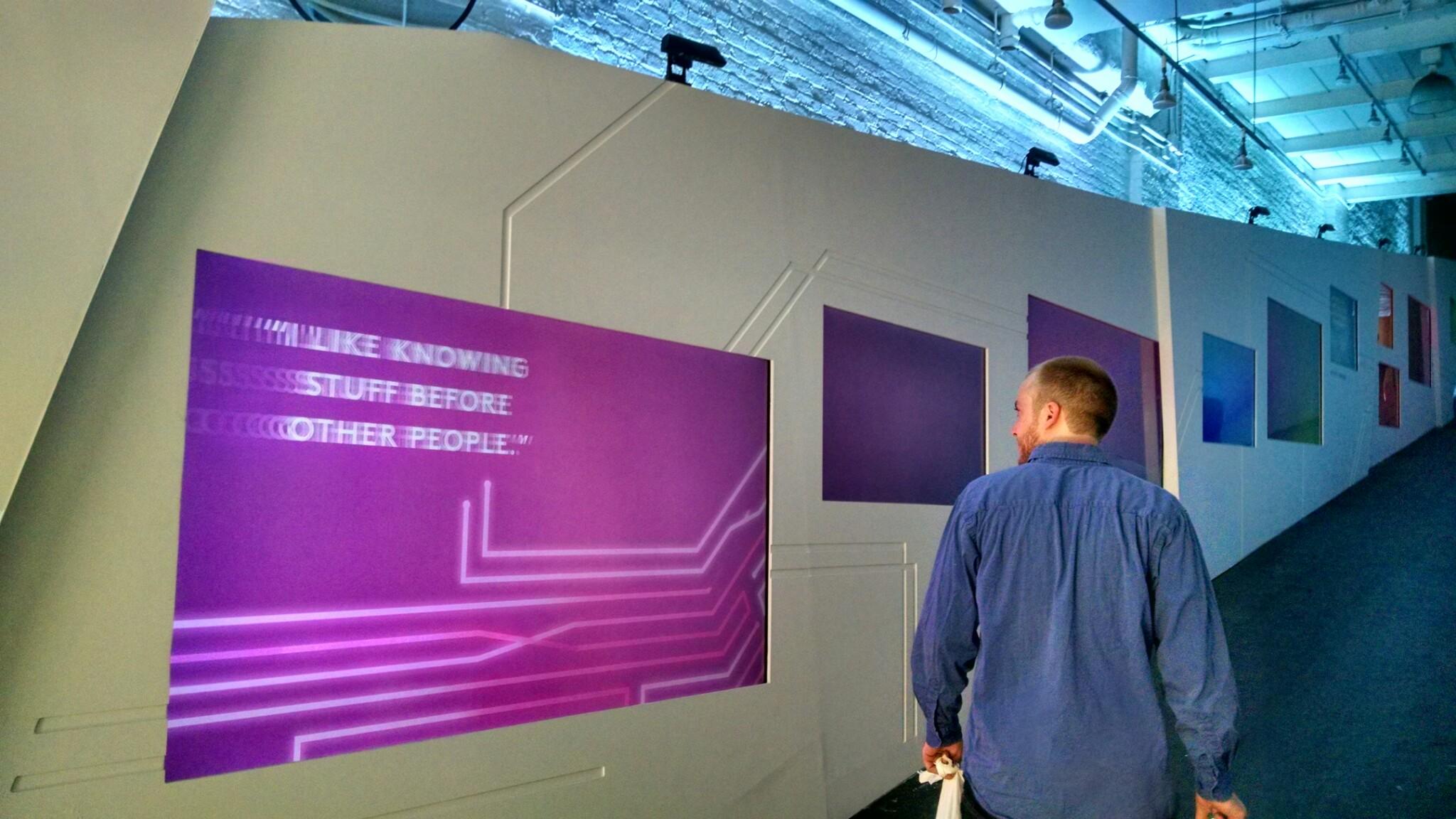 HBOD 2015 Video Wall